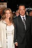 Charlie Wilson, Rita Wilson, Tom Hanks Stock Image