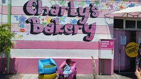 Charlies bakery cape town south africa Royalty Free Stock Images