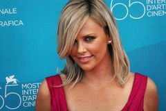 Charlize Theron Photo libre de droits
