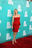 Charlize Theron arriving at the 2012 MTV Movie Awards Stock Photography