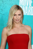 Charlize Theron arriving at the 2012 MTV Movie Awards Royalty Free Stock Image