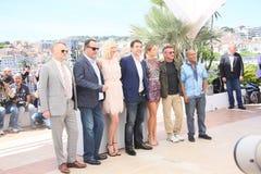 Charlize Theron, Jean Reno, Haver Bardem Lizenzfreie Stockbilder