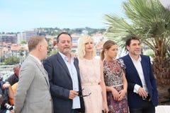 Charlize Theron, Jean Reno, Haver Bardem Lizenzfreie Stockfotos