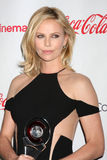 Charlize Theron obtient aux récompenses 2012 de talent de CinemaCon Image stock