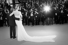 Charlize Theron Sean Penn Arkivbilder