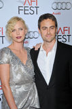 Charlize Theron,Stuart Townsend Stock Images