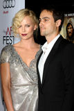 Charlize Theron,Stuart Townsend Royalty Free Stock Photography