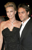 Charlize Theron and Stuart Townsend Royalty Free Stock Photography