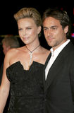 Charlize Theron and Stuart Townsend Stock Image