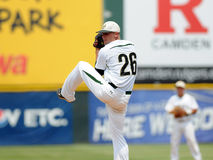 Charlotte 49'er pitcher Andrew Smith Royalty Free Stock Images