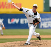 Charlotte 49'er pitcher Andrew Smith Stock Photography