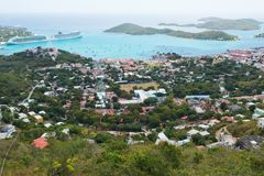 Charlotte Amalie Imagem de Stock Royalty Free