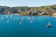 Charlotte Amalie Royalty Free Stock Photography