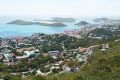Charlotte Amalie royalty-vrije stock foto's
