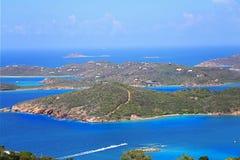 Charlotte Amalie Bay fotografia stock