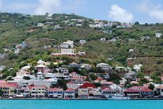 Charlotte Amalie Downtown Stock Photos