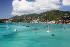 Charlotte Amalie Harbor, St Thomas stockbild