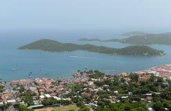 Charlotte Amalie, Heilige Thomas Island, de Maagdelijke Eilanden van de V.S. stock foto's
