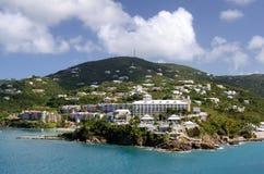 Charlotte Amalie, rue Thomas, États-Unis Îles Vierges images libres de droits