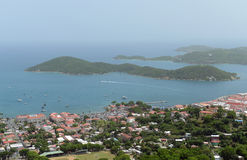 Charlotte Amalie, Saint Thomas Island, E.U. Ilhas Virgens Fotos de Stock
