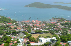 Charlotte Amalie, Saint Thomas Island, E.U. Ilhas Virgens Foto de Stock Royalty Free