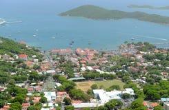 Charlotte Amalie, san Thomas Island, Isole Vergini americane fotografia stock libera da diritti