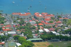 Charlotte Amalie, san Thomas Island, Isole Vergini americane immagine stock