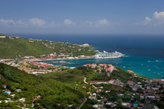 Charlotte Amalie, st Thomas Fotografie Stock