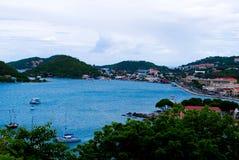 Charlotte Amalie St Thomas Arkivfoto