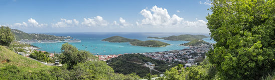 Charlotte Amalie in St. Thomas Royalty Free Stock Photos