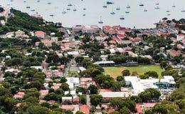 Charlotte Amalie St Thomas da sopra Immagine Stock