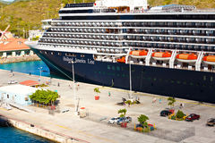 Holland America Cruise Ship Royalty Free Stock Photography