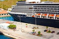 Holland America Cruise Ship royalty free stock photography