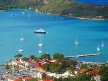 Charlotte Amalie, St Thomas, USA Dziewicze wyspy Obraz Stock