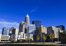 Charlotte Bearden Park in the Fall Stock Image