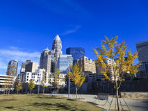 Charlotte Bearden Park in the Fall Stock Photography