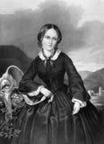 Charlotte Bronte royaltyfria bilder