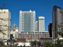 Charlotte da parte alta da cidade NC Imagem de Stock Royalty Free