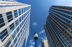 Charlotte Financial District Royalty Free Stock Photography