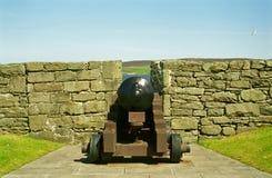 Charlotte forte, Lerwick, Shetland Fotografia Stock