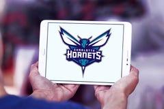 Charlotte Hornets American basketball team logo royalty free stock image