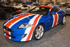 Charlotte International Auto Show 2014 fotografia de stock royalty free