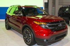 Charlotte International Auto Show 2014 Immagine Stock Libera da Diritti