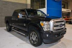 Charlotte International Auto Show 2014 Stock Foto's