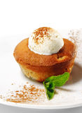 charlotte kremowego deseru lodu bonkreta Zdjęcie Stock