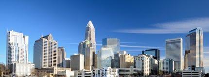 Charlotte la Caroline du Nord images stock