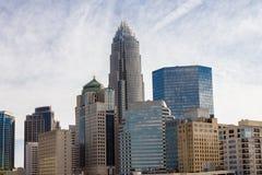Charlotte, la Caroline du Nord Photos libres de droits