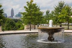 Charlotte, la Caroline du Nord Photographie stock libre de droits