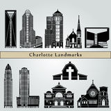 Charlotte landmarks and monuments Stock Photography