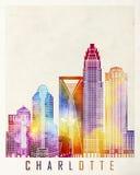 Charlotte landmarks Stock Image